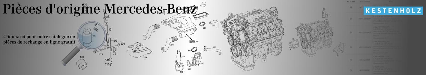 Mercedes Benz Catalogue de pièces de rechange d'origine gratuit