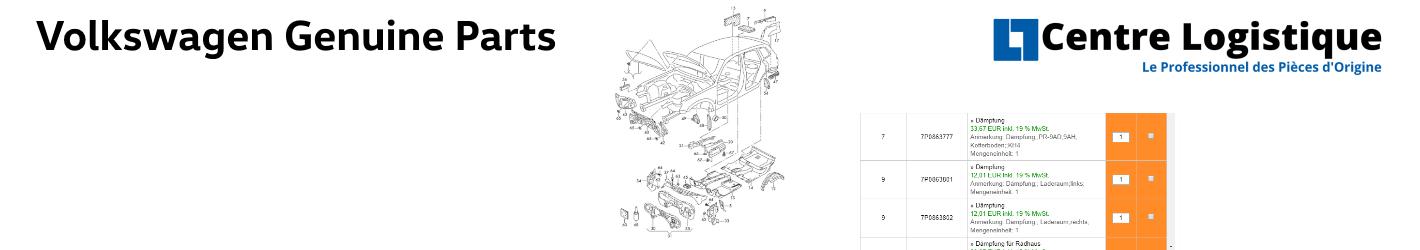 Volkswagen free Genuine Spare Parts Catalog