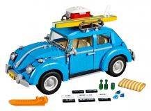 6R5099320 VW Lego Beetle Bleu