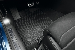 3G1061550  041 Set de tapis de sol en caoutchouc VW Plus Passat B8 à partir de 2015 avant arrière